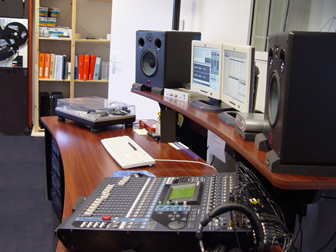 Studios of the Phonotheque